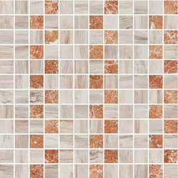 Mosaic Square STRUCTURE 12X12 | Type H | Dalles en pierre naturelle | Gani Marble Tiles