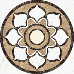 Medallion Round | PH028 | Natural stone panels | Gani Marble Tiles