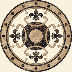 Medallion Round | PH055 | Natural stone panels | Gani Marble Tiles