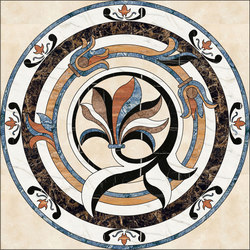 Medallion Round | PH062-1 | Natural stone panels | Gani Marble Tiles