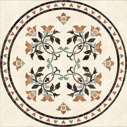 Medallion Round | PH068 | Natural stone panels | Gani Marble Tiles