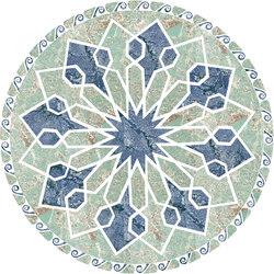 Medallion Round | PH071 | Natural stone panels | Gani Marble Tiles