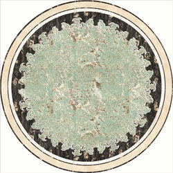 Medallion Round | PH084 | Planchas | Gani Marble Tiles