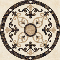 Medallion Round | PH029 | Lastre | Gani Marble Tiles