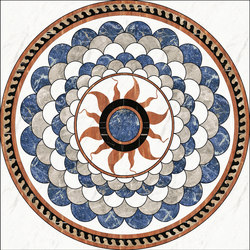 Medallion Round | PH058 | Natural stone panels | Gani Marble Tiles
