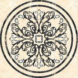 Medallion Round | PH087 | Natural stone panels | Gani Marble Tiles