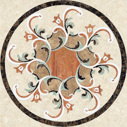 Medallion Round | PH088 | Natural stone panels | Gani Marble Tiles