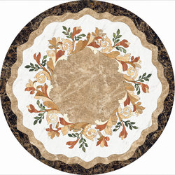 Medallion Round | PH039 | Lastre | Gani Marble Tiles