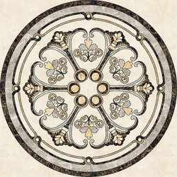 Medallion Round | PH042 | Natural stone panels | Gani Marble Tiles