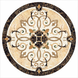 Medallion Round | PH047 | Lastre | Gani Marble Tiles