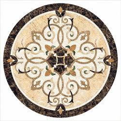Medallion Round | PH047 | Natural stone panels | Gani Marble Tiles