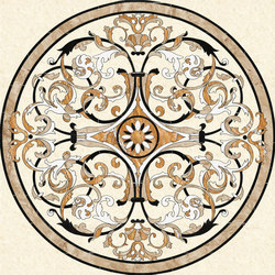 Medallion Round | PH022-1 | Natural stone panels | Gani Marble Tiles