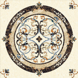 Medallion Round | PH023 | Planchas | Gani Marble Tiles
