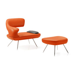Oasi | Armchair & Pouf | Poltrone lounge | Estel Group