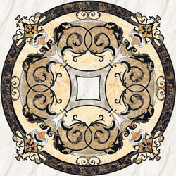 Medallion Round | PH070 | Natural stone panels | Gani Marble Tiles