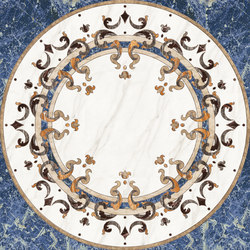 Medallion Round | PH089 | Planchas | Gani Marble Tiles