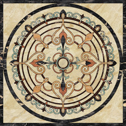 Medallion Round | PH104 | Natural stone panels | Gani Marble Tiles