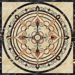 Medallion Round | PH104 | Natural stone panels | Gani Marble Tiles