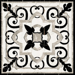 Medallion Square | PH007 | Panneaux | Gani Marble Tiles