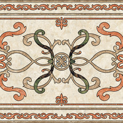 Medallion Square | PH054 | Panneaux | Gani Marble Tiles