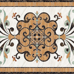 Medallion Square | PH080 | Panneaux | Gani Marble Tiles