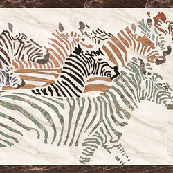 Medallion Square | PHD009 | Natural stone panels | Gani Marble Tiles
