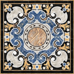 Medallion Square | PH074 | Planchas | Gani Marble Tiles