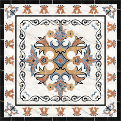 Medallion Square | PH091 | Panneaux | Gani Marble Tiles