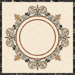 Medallion Round | PH105 | Planchas | Gani Marble Tiles