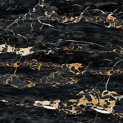 Black | Italian Portoro | Natural stone panels | Gani Marble Tiles