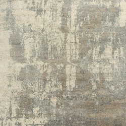 Relined ivory grey | Tappeti / Tappeti d'autore | THIBAULT VAN RENNE