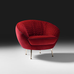 Giulia armchair | Lounge chairs | black tie