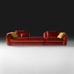 Levante Sofa | Sofás lounge | black tie