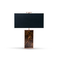 Maite table lamp | Iluminación general | black tie