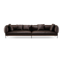 Jord Sofa 2,5 seater with armrests | Canapés d'attente | Fogia