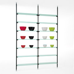 BACKUP GLASS | Shelving | Diemmebi S.p.A