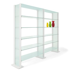 BACKUP GLASS | Office shelving systems | Diemmebi S.p.A