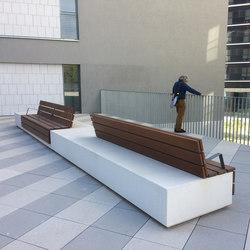 Longo | Exterior benches | Escofet 1886