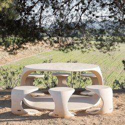 Odos | Tables and benches | Escofet 1886
