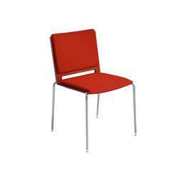 Sillas multiusos con asiento y respaldo tapizados sillas for Silla unnia inclass