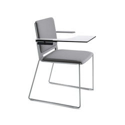 laFILÒ SOFT WRITING TABLET ARMCHAIR | Chairs | Diemmebi S.p.A