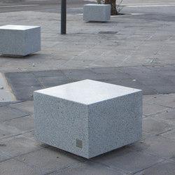Socrates Cube | Exterior stools | Escofet 1886