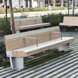 Sumo | Exterior benches | Escofet 1886