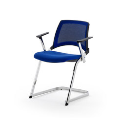 laKENDÒ NET CANTILEVER ARMCHAIR | Visitors chairs / Side chairs | Diemmebi S.p.A