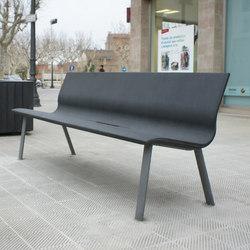 Vilnius | Exterior benches | Escofet 1886
