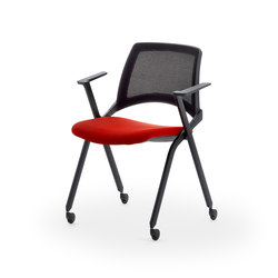 laKENDÒ NET CASTOR ARMCHAIR | Visitors chairs / Side chairs | Diemmebi S.p.A