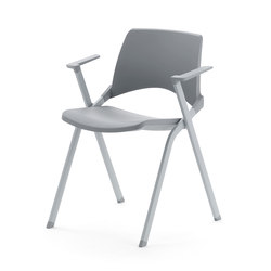 laKENDÒ PLASTIC ARMCHAIR | Visitors chairs / Side chairs | Diemmebi S.p.A