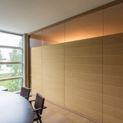 Genial Wallen | The Wooden Wall | Sound Absorbing Architectural Systems | Adotta  Italia