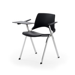 laKENDÒ NET WRITING TABLET CHAIR | Chairs | Diemmebi S.p.A