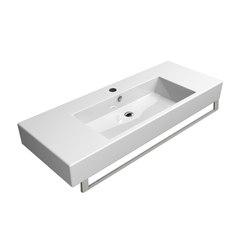 Kube 120 |Washbasin | Wash basins | GSI Ceramica